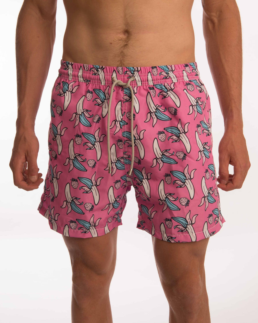 Banana Pop Board Shorts - Bistro StTropez