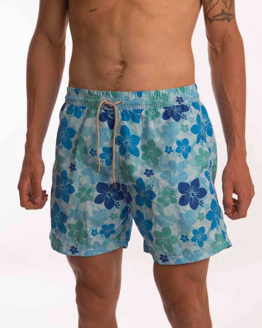 Hawaiian Board Shorts - Bistro StTropez