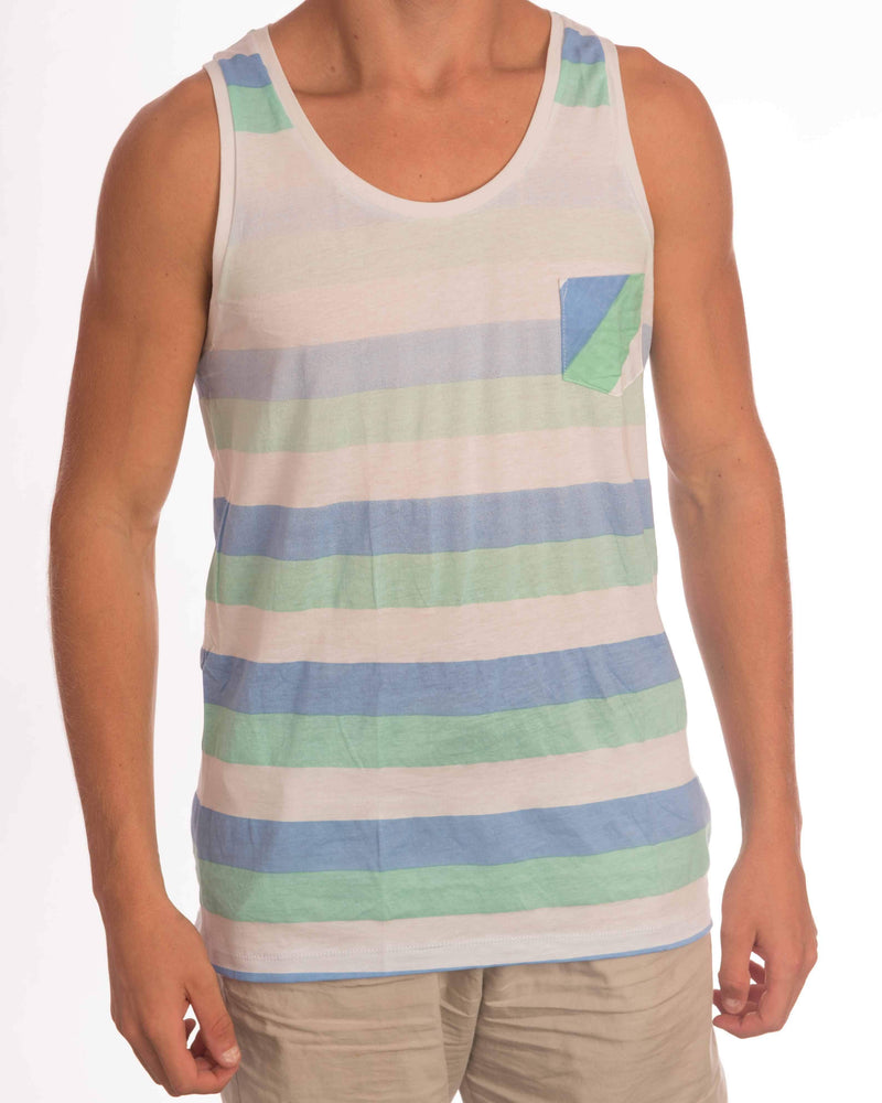 Triple Stripe Singlet