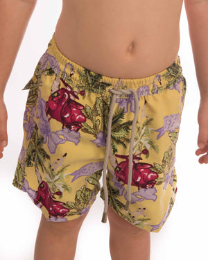 Flamingo Vespa Boardshort Boys