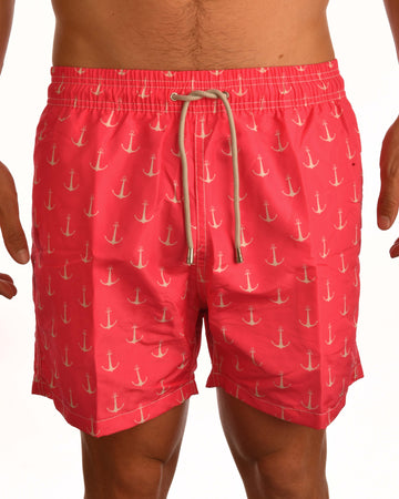 Anchor Board Short - Bali new season swimwear - Bistro StTropez
