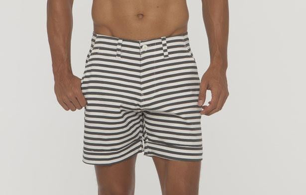 Keats Small Stripe Short - Bistro StTropez