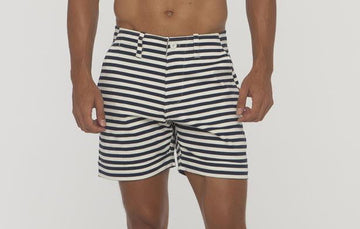 Keats Small Stripe Short