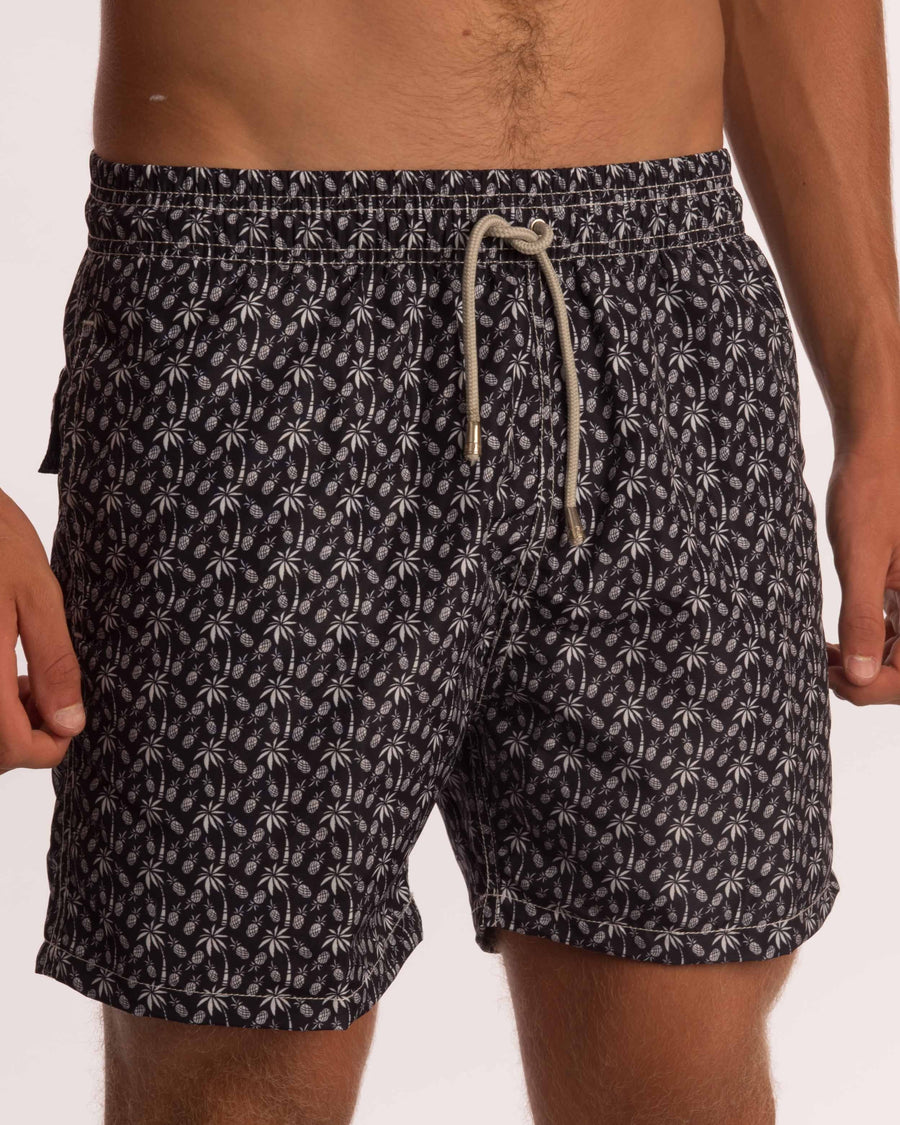 Coconut Palm Board Shorts - Bistro StTropez