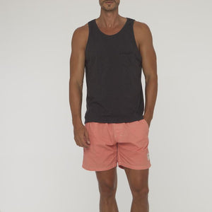 Plain Saint Singlet With Pocket