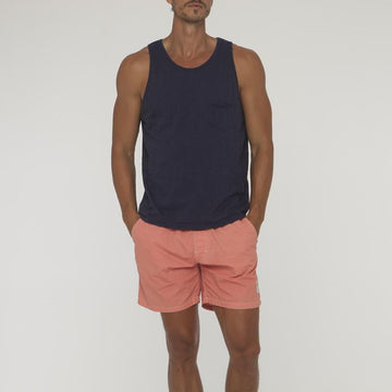Plain Saint Singlet With Pocket - Bistro StTropez