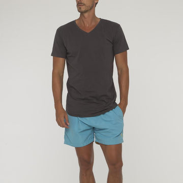 Plain V Neck T Shirt No Pocket - Bistro StTropez