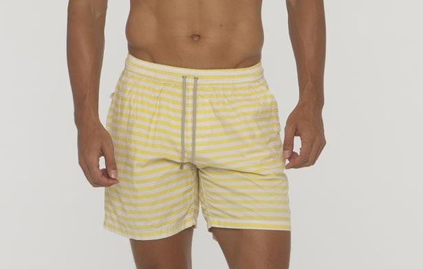 Saint Bistro Small Stripe Cotton Short