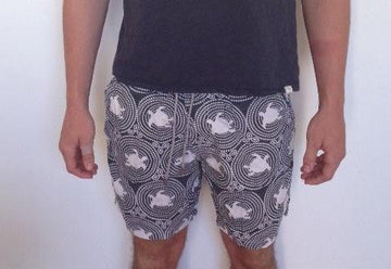 Tortoise Cotton Beach Short - Bistro StTropez