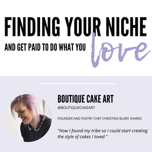 Finding your niche and getting paid to do what you love!
