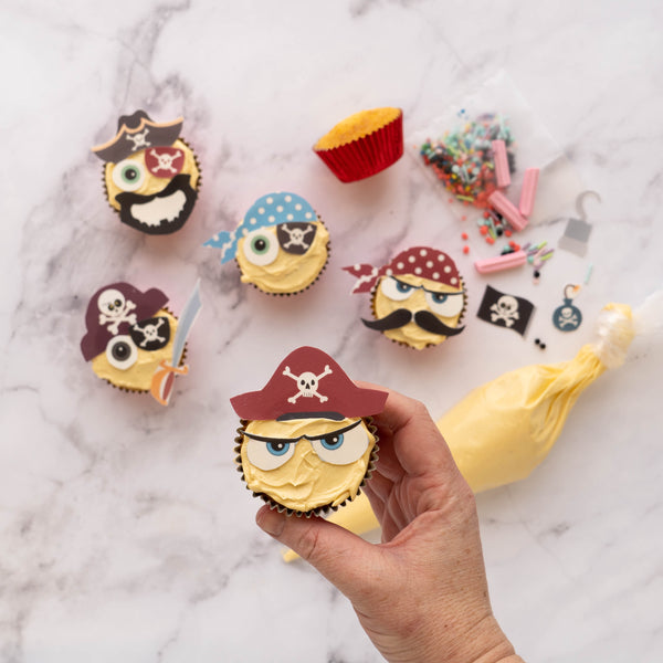 Bake your own pirate cupcakes