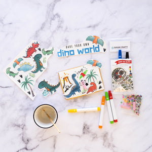 Bake your own dino world cookies
