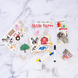 Bake your own little farm cookies