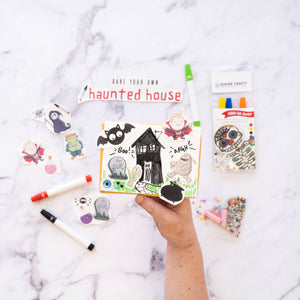 Bake your own haunted house cookies