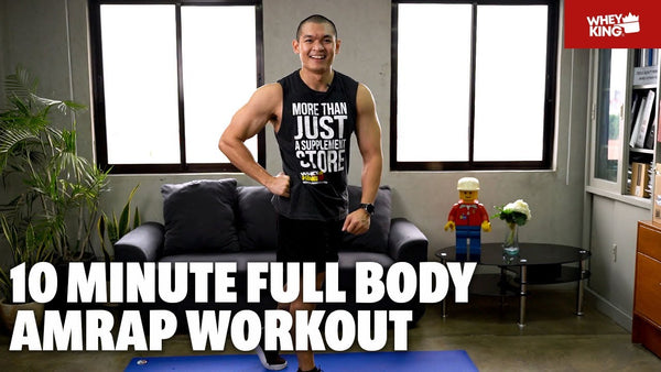 10-MINUTE HIIT CARDIO HOME WORKOUT with Warmup | NO EQUIPMENT | Follow Along Exercise!(Philippines)
