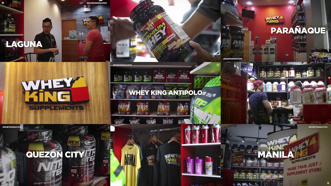 11 Branches to Serve you Better | Whey king Supplements Philippines