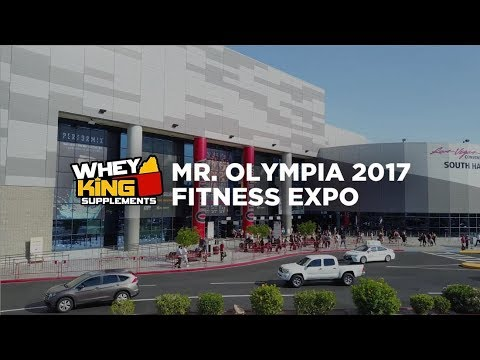 2017 Mr. Olympia Expo | Whey King Supplements Philippines