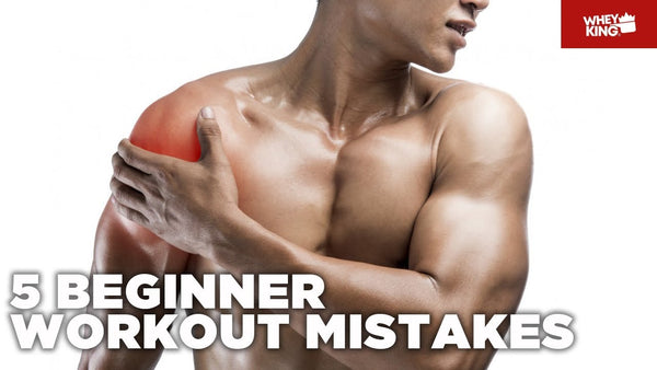 5 BEGINNER WORKOUT MISTAKES!