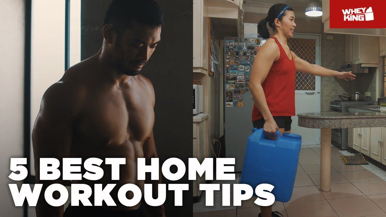 5 TIPS TO MAXIMIZE HOME WORKOUT | Lockdown Tips!