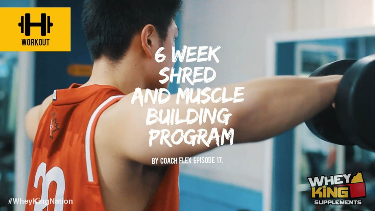 6 week Shred & Muscle Building Program | Coach Flex | Day.17 | Whey King Supplements Philippines