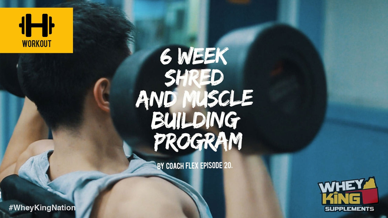 6 week Shred & Muscle Building Program | Coach Flex | Day.20 | Whey King Supplements Philippines