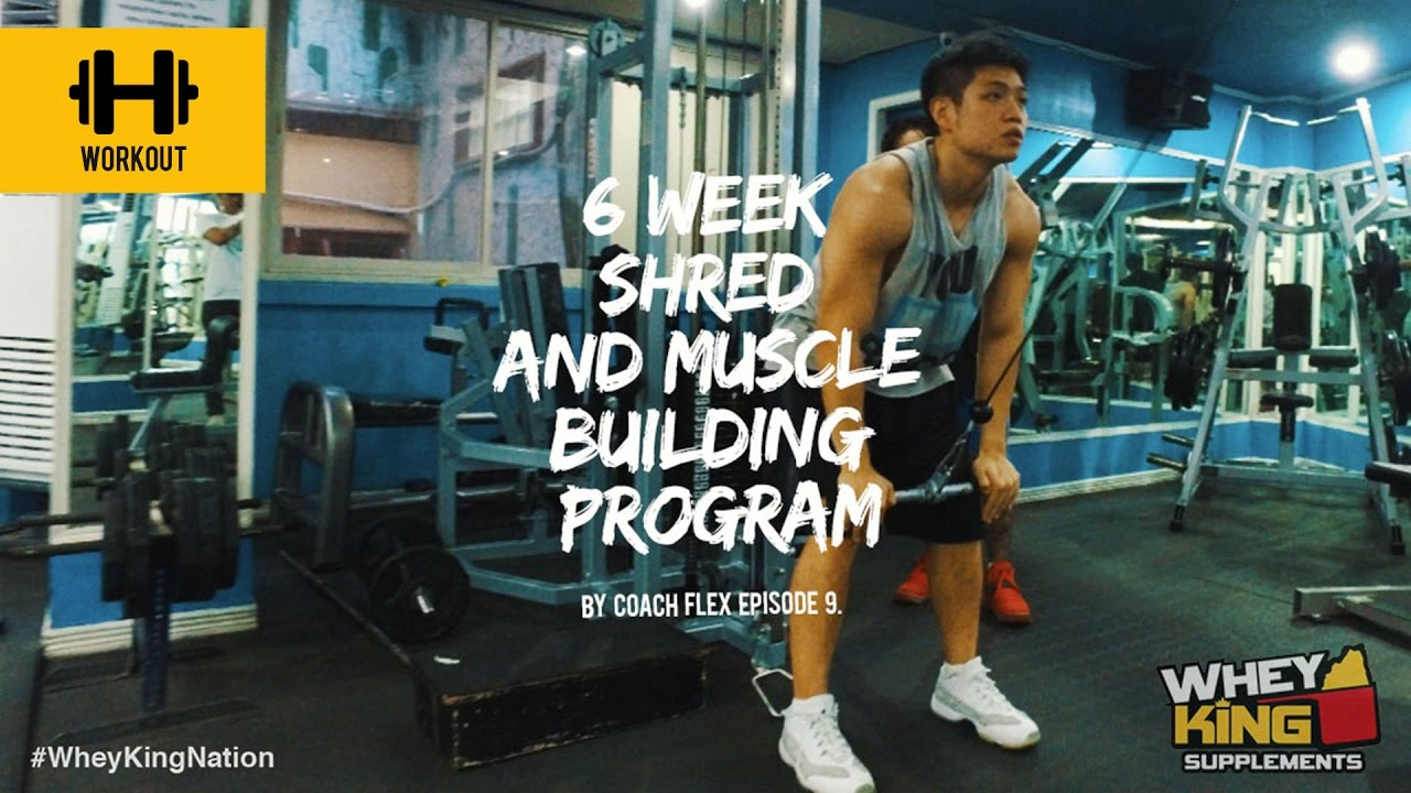 6 week Shred & Muscle Building Program | Coach Flex | Day.9 | Whey King Supplements Philippines