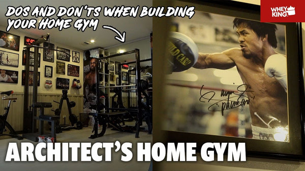 AN ARCHITEC'S HOME GYM | HOME GYM RAID WITH Architect Paul Peña | HOME GYM TIPS! MUST WATCH!