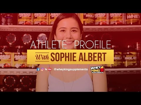 Athlete Profile | Sophie Albert | Whey King Supplements Philippines