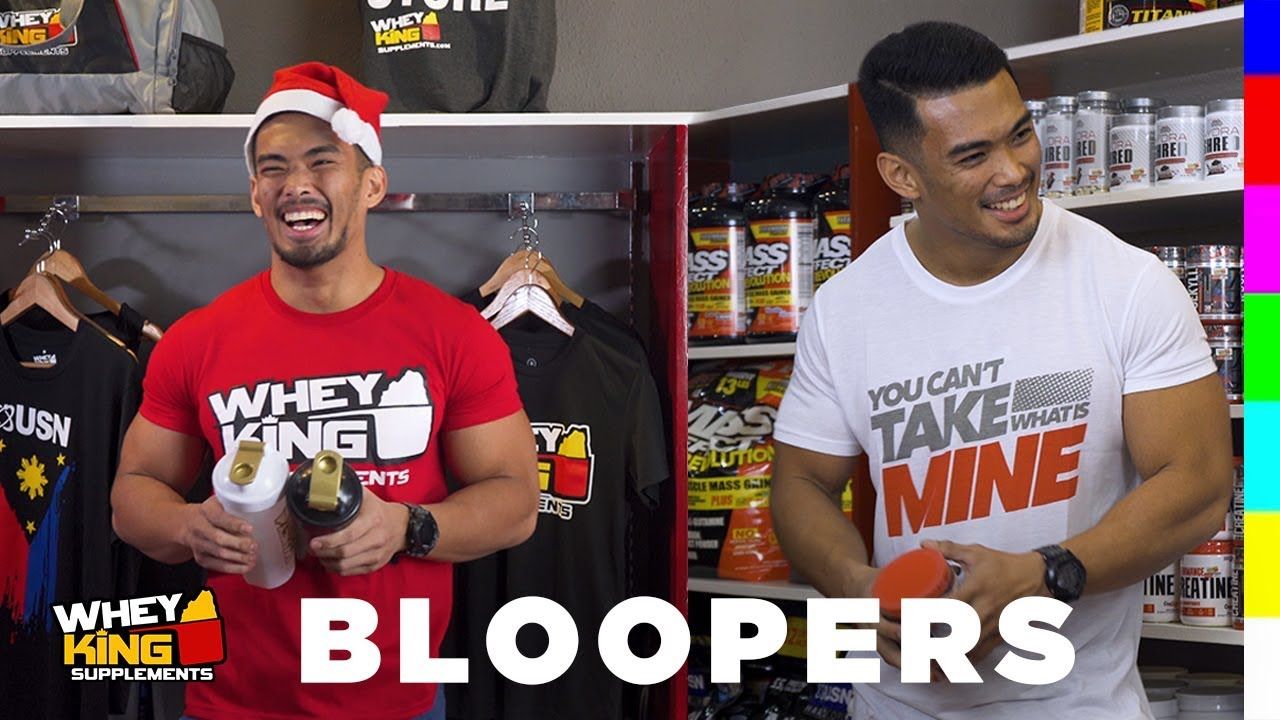 BLOOPERS 2018 - Whey King Supplements