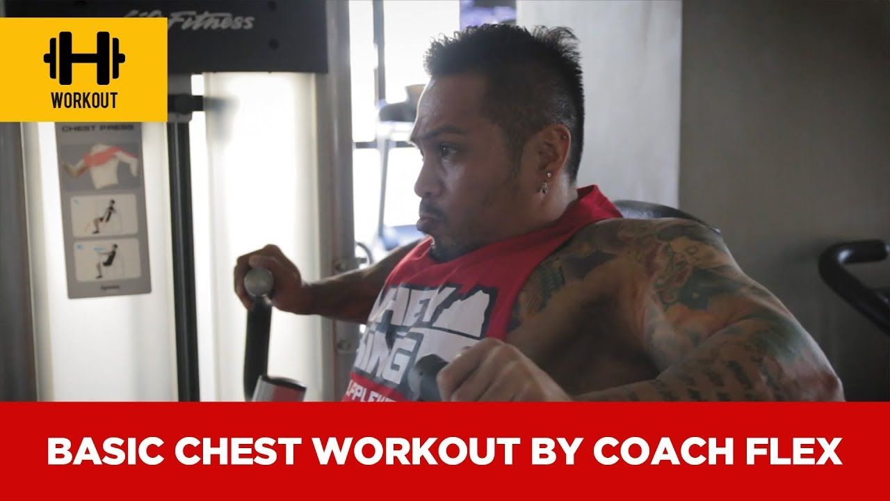 Basic chest workout by Coach Flex | Whey King