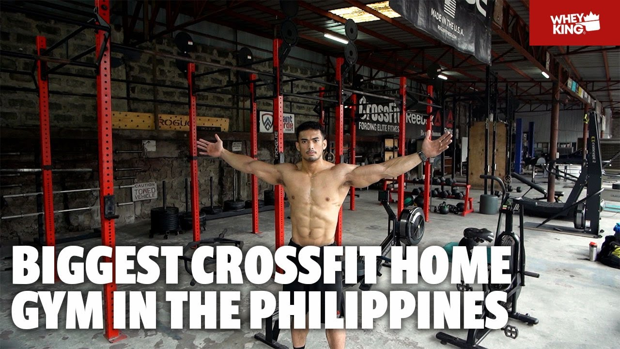 BIGGEST CROSSFIT HOME GYM IN THE PHILIPPINES! | HOME GYM RAID | vlog#10 BONUS WORKOUT FEATURE