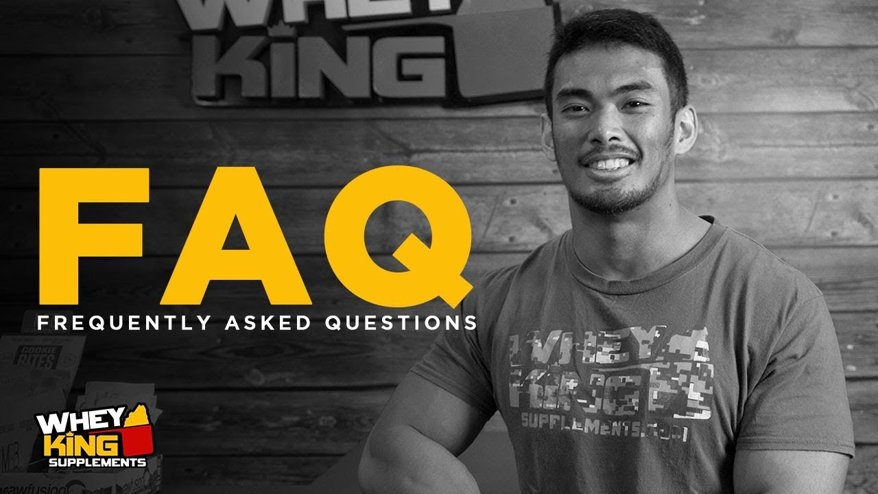 FAQ Friday | PROMO Questions | Whey King Supplements