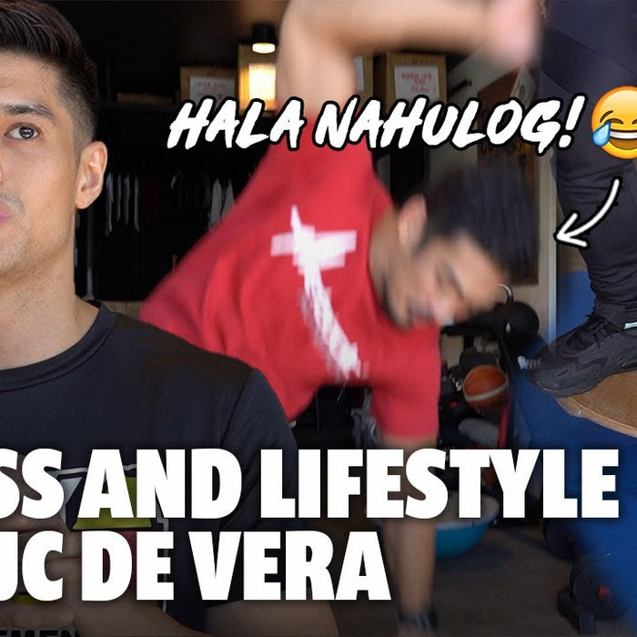 JC DE VERA HOME GYM RAID! | LEAN PHYSIQUE GOAL TIPS | FITNESS & LIFESTYLE.