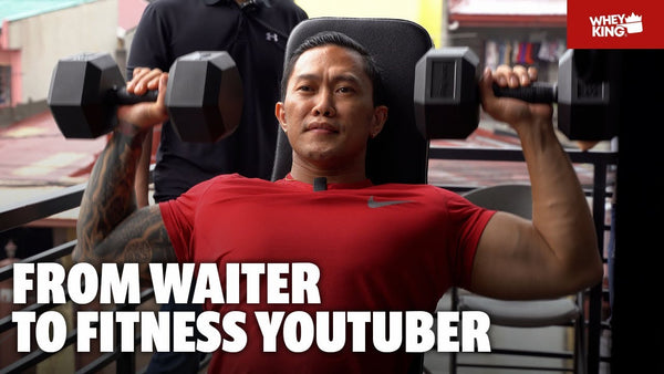 Coach ALEXIS TOLENTINO visits Whey King HQ + BONUS LIVFIT Gym Equipment STRESS TEST! | vlog#06