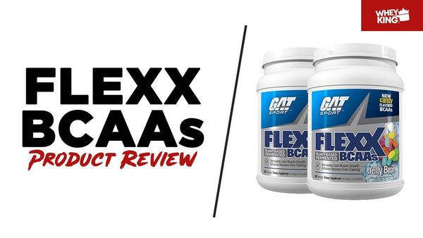 GAT SPORT FLEXX BCAAs Product Review | Whey King Sports