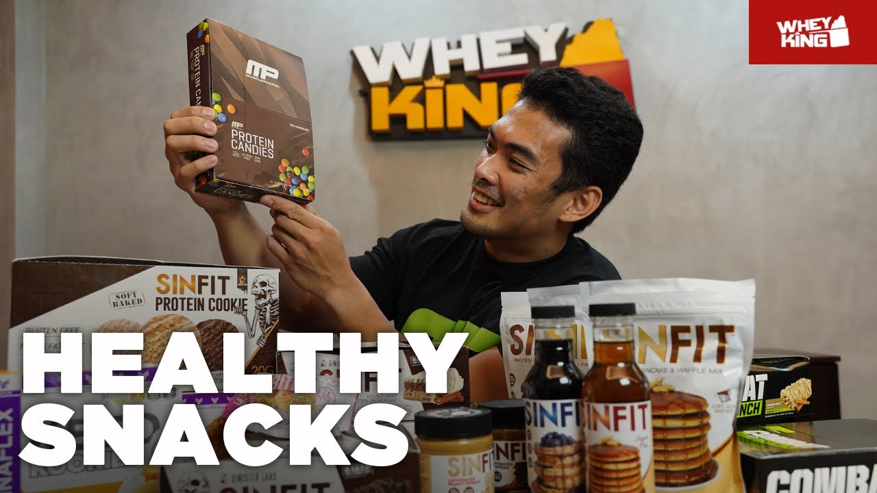 HEALTHY Snacks l Protein Bars | Pancake Mix