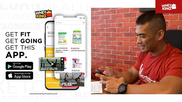 HOW TO ORDER? | DOWNLOAD OUR MOBILE APP! |Whey King