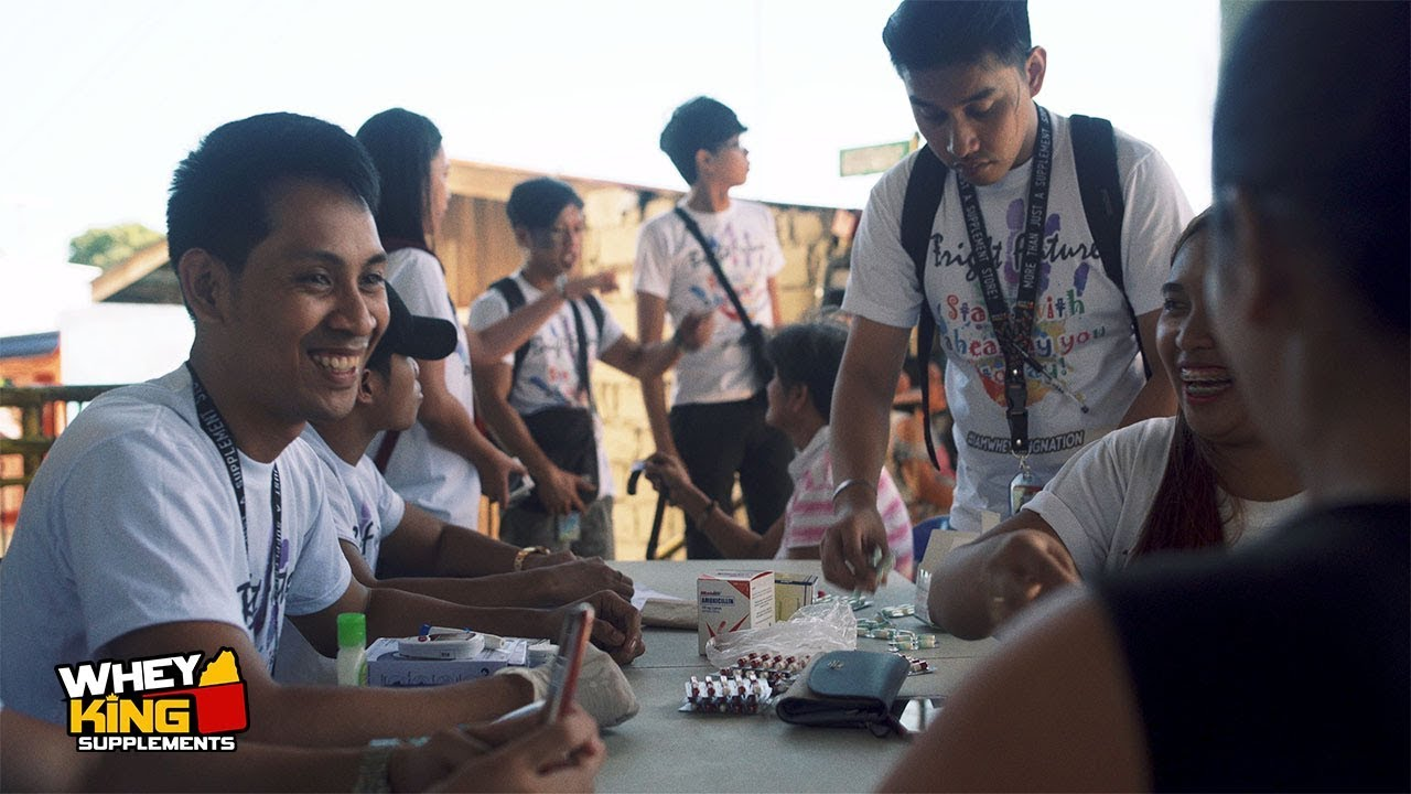 Medical Mission in Laguna | Whey King Supplements gives back to the Community!