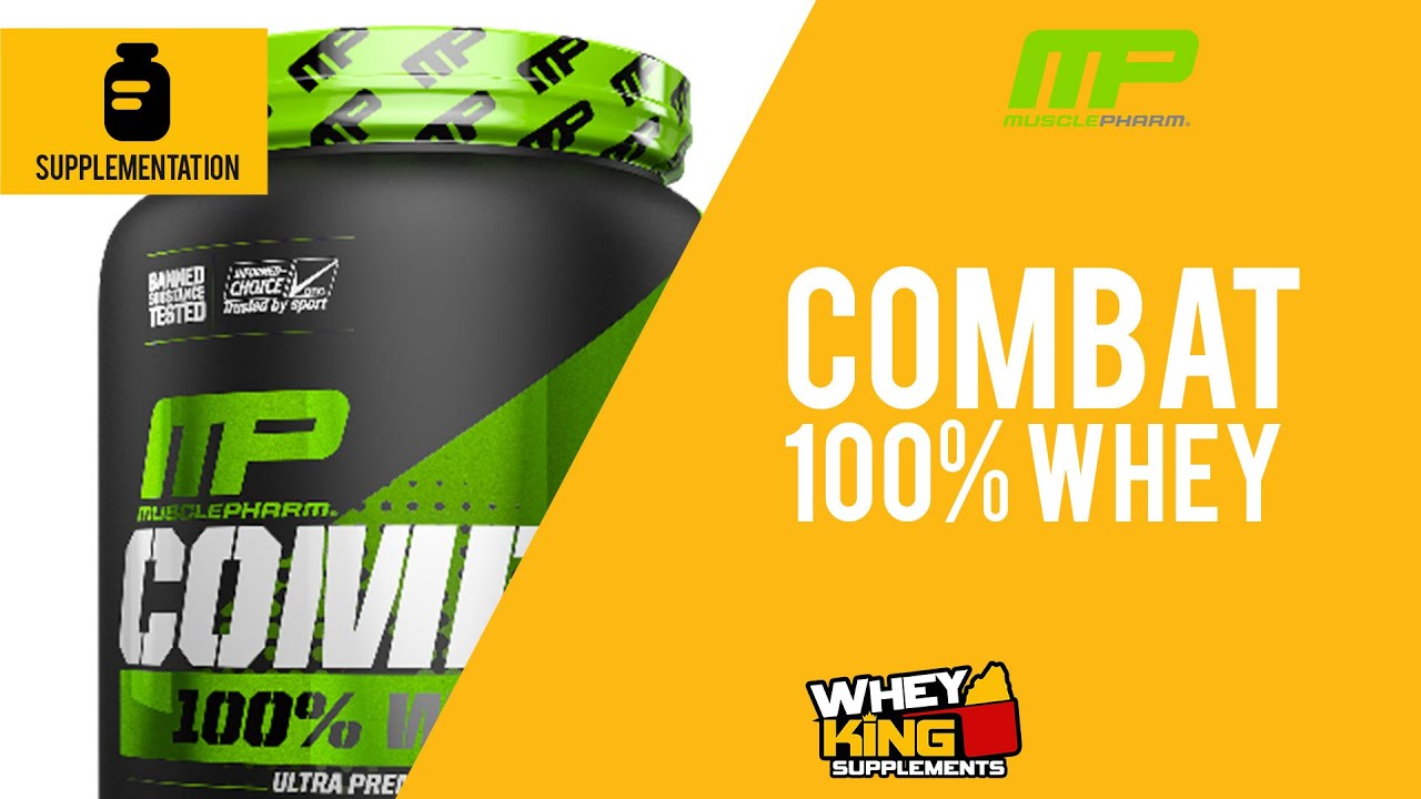 Muscle Pharm Combat 100% Whey Product Review | Whey King Supplements Philippines