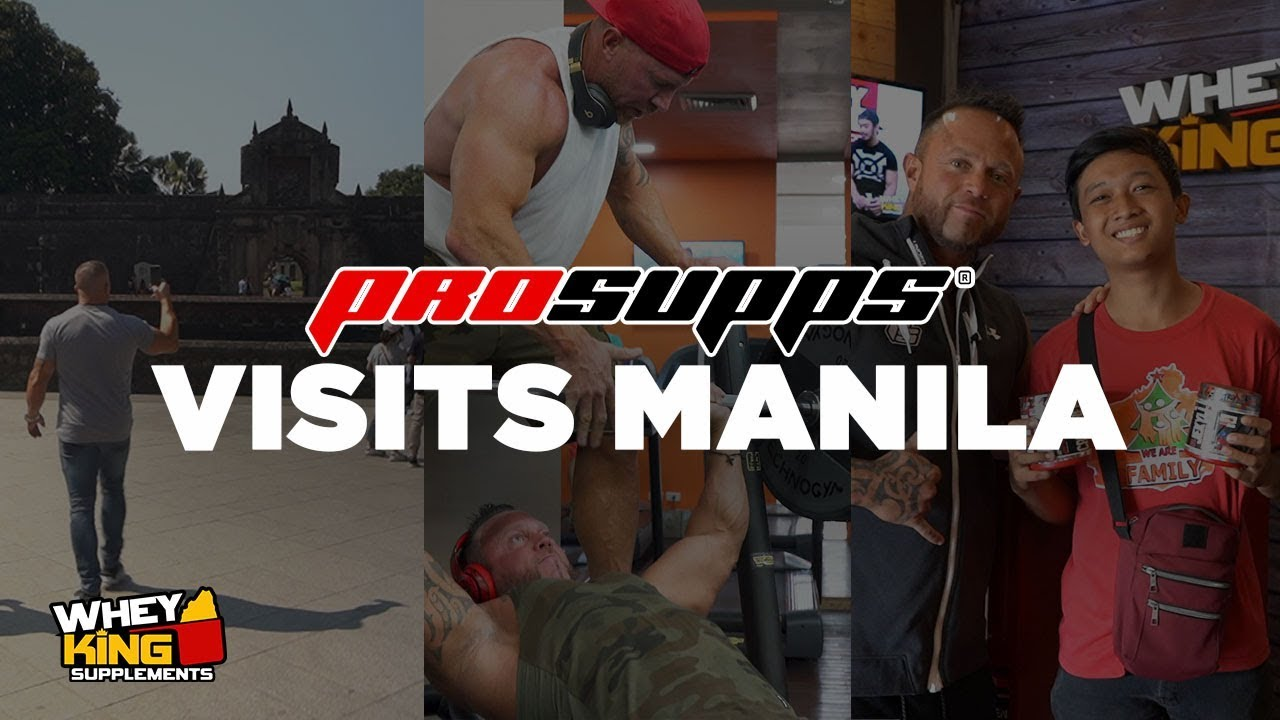 PROSUPPS VISITS THE PHILIPPINES!