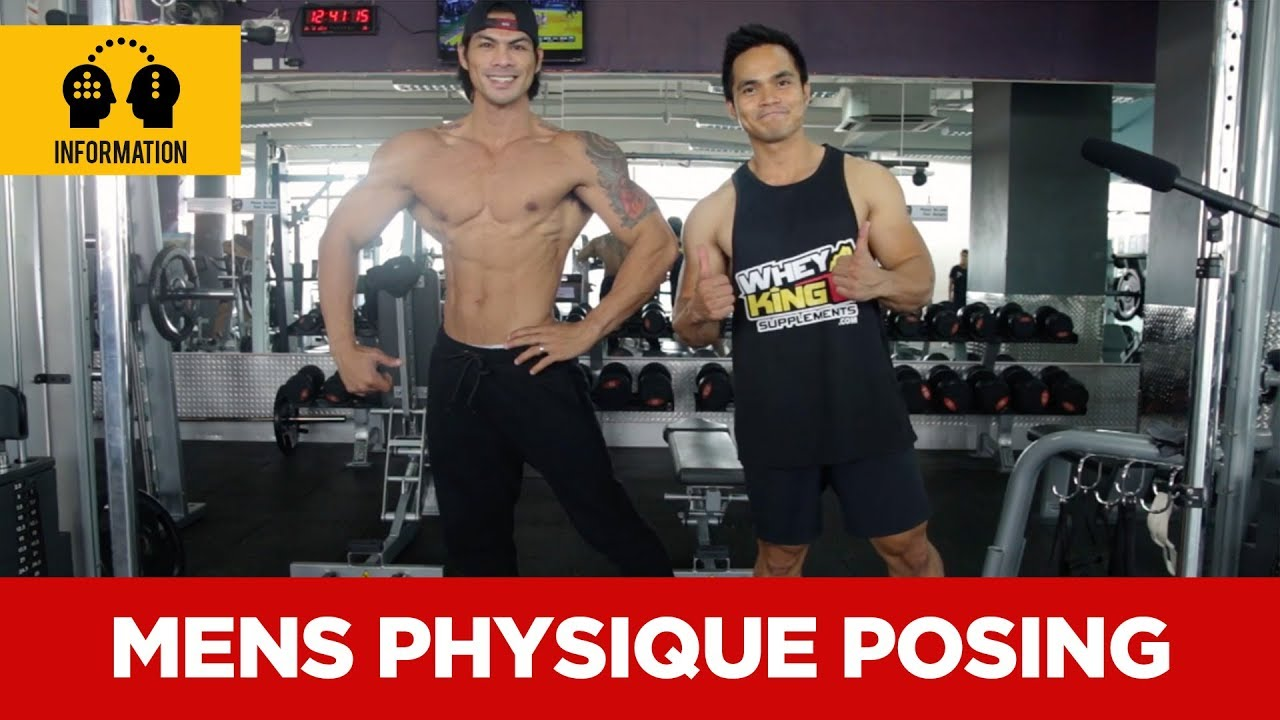 Proper Mens Physique posing | Whey King Supplements Philippines