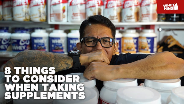 THINGS TO CONSIDER WHEN TAKING SUPPLEMENTS