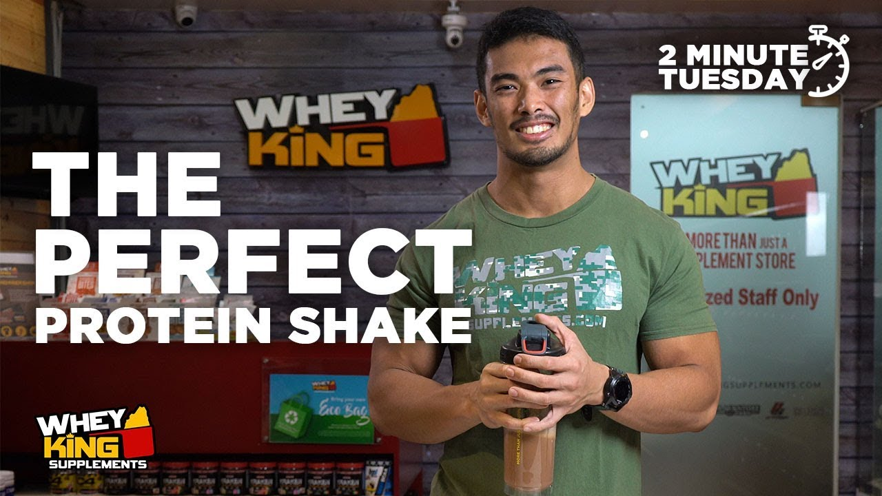 Two-Minute Tuesdays - How to create the PERFECT PROTEIN SHAKE!