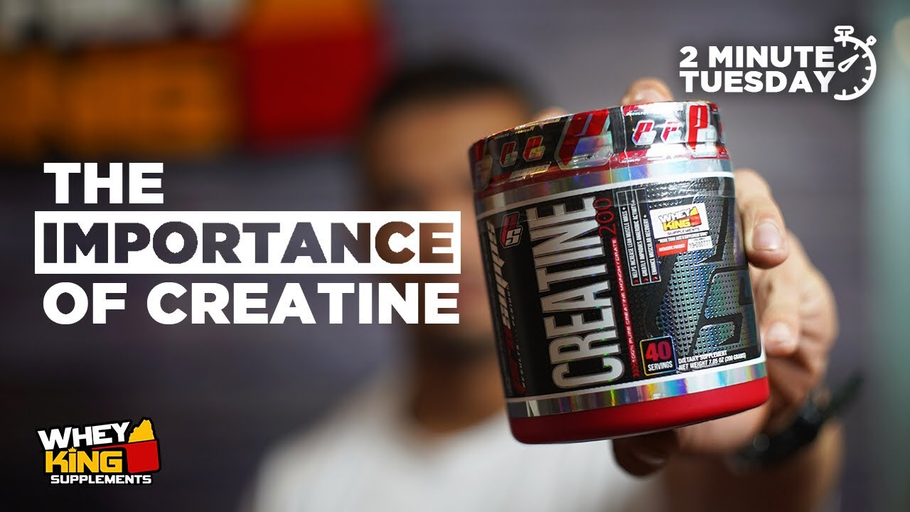 Two-Minute Tuesdays - IMPORTANCE OF CREATINE
