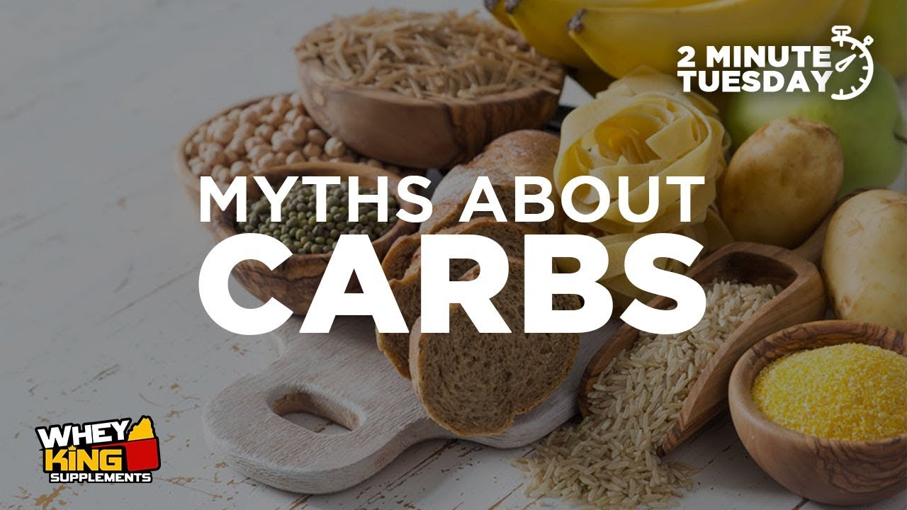 Two-Minute Tuesdays - MYTHS ABOUT CARBS ANSWERED!