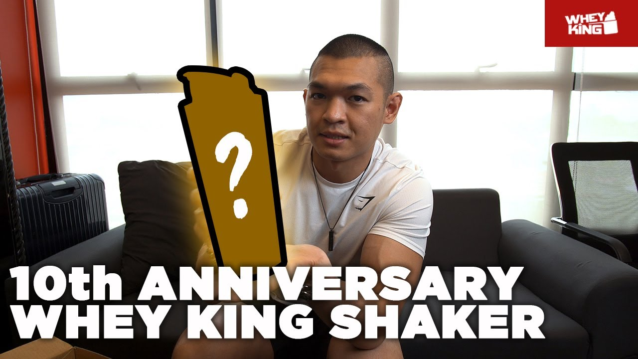 UNBOXING LIMITED10th Anniversary Whey King Shaker | Don't MISS this!