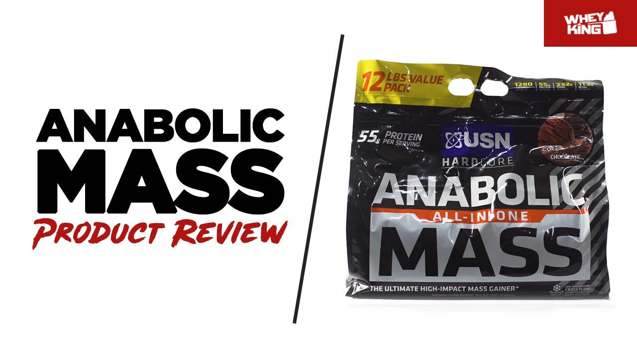 USN Anabolic Mass Product Review | Whey King Sports