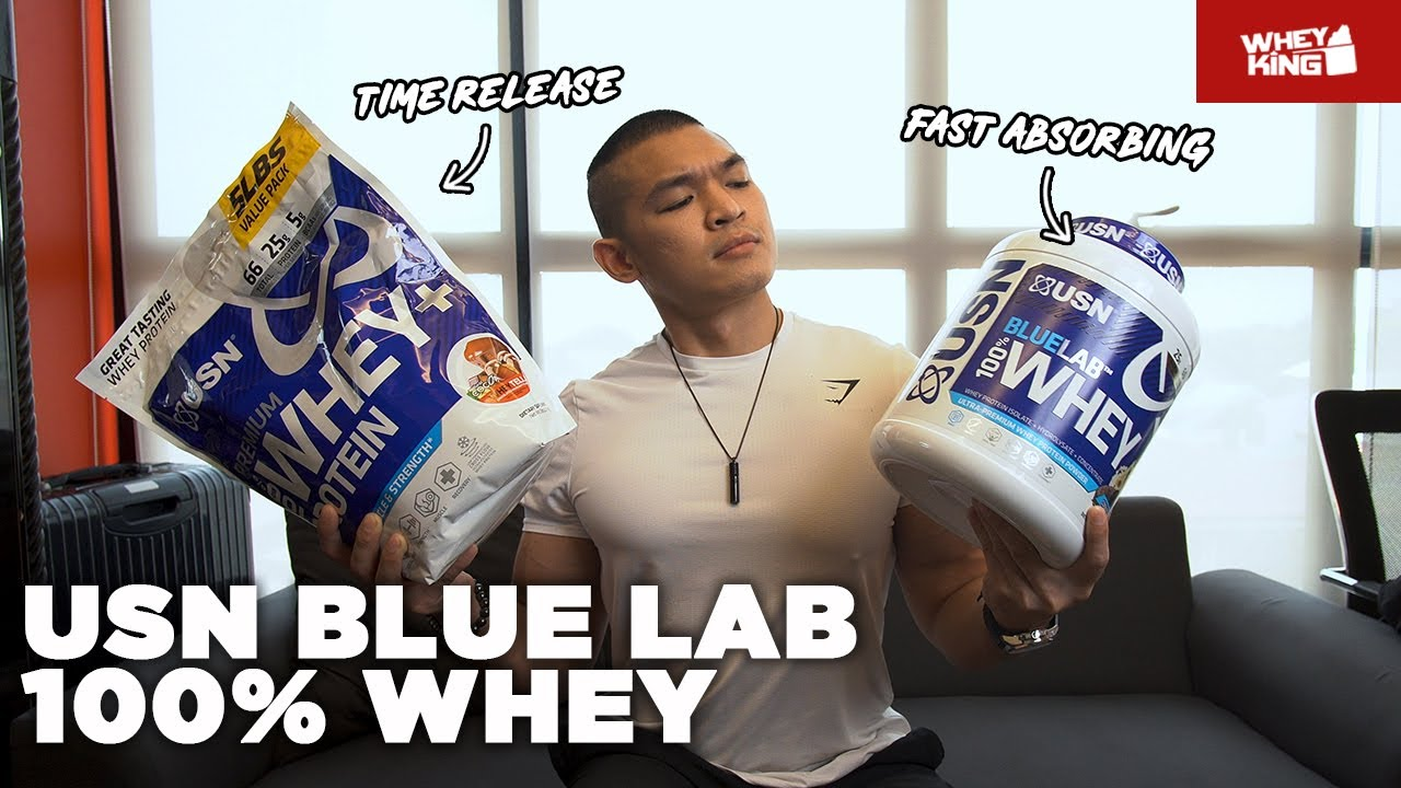 USN BLUELAB WHEY VS PREMIUM WHEY | SEE THE DIFFERENCE!
