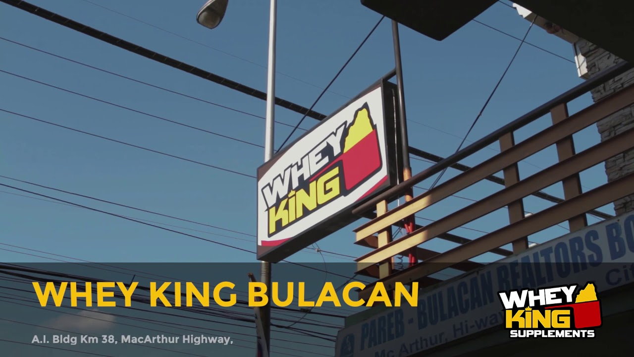 Whey King Supplements Bulacan | Store Visit