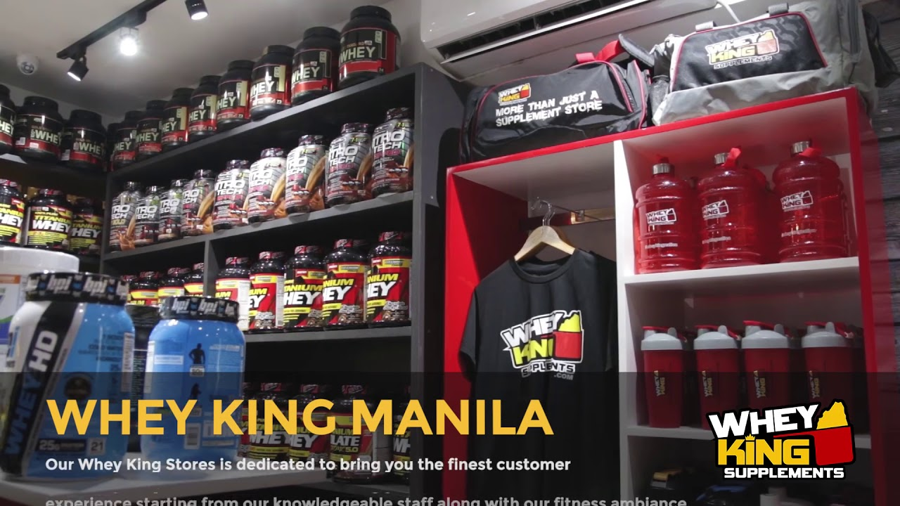 Whey King Supplements Espana manila | Store tour